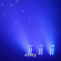 Smoke Bubble Machine Couleur Changer Les Lumières Led DMX Fog Dj Disco + Fog Fluid