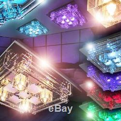 Spot De Plafond À Changement De Couleur Led Rgb Avec Lampe Design Pour Salle Déportée 143307