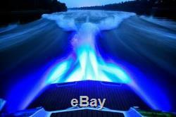 Ss Quasar Rgb Color Changing 8000 Lumens Totale Sous-marine Bateau Bouchon De Vidange Led