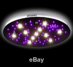 Stars-xl Led Étoilé Au Plafond Ciel Lampe Changement De Couleur Rvb + 60 CM 24po 46w Rc