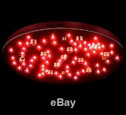 Stars-xl Led Lampe De Changement De Couleur De La Lumière Plafond Du Ciel Rvb De 60 CM 46w + Rc 24po