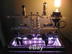 Steampunk Mad Scientifique. Lampe Tesla