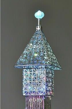 Superbe Lampe De Plancher De Tour Eiffel De 146cm 112 Led Changeantes De Couleur