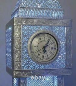 Superbe Lampe De Sol À Led Big Ben (couleur Changeante) Blue Glow 147cm
