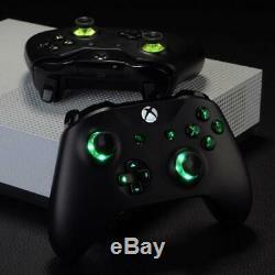 Sur Mesure Xbox Un Contrôleur Led Boutons De Changement De Couleur Garantie Lifetime