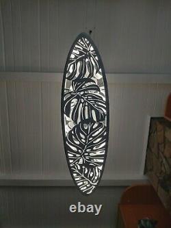 Surfez La Lumière De Plafond Pour La Décoration Maison. Lampe Surfboard, Lampe De Nuit Pour Décor Mural