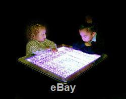 Table À Bulles Table Basse Table De Jeu Sensorielle Pour Enfants Changement De Couleur À Distance