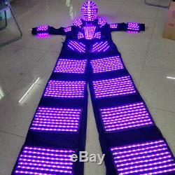 Télécommande 7 Changement De Couleur Led Robot Vêtements Vêtements Costume Party Costume