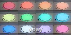 Tickit 73020 Rond Couleur Changer Panneau Lumineux 70cm Led Sensory Room Den Sen Asd