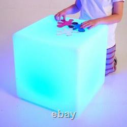 Tickit 75544 Sensor Mood Light Cube Led Colour Change Sensor Room Den Sen Asd