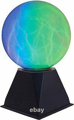 Touch & Sound Activé 6 Lightning Storm Plasma Ball Colour Light Globe Lamp