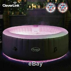 Tout Neuf Cleverspa Monte Carlo 6 Personne Hot Led Tub Feux Comme Lazy Z Spa