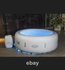 Tout Nouveau Lay Z Spa Paris 4-6 Personne Hot Tub Avec Led Lights + Freeze Shield