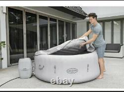 Tout Nouveau Lay Z Spa Paris 4-6 Personne Hot Tub Avec Leds + Freeze Shield