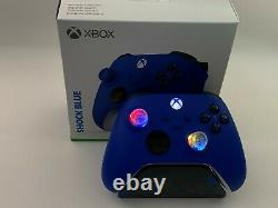 Toute Nouvelle Xbox One Series X S Controller W Changement De Couleur Rgb Led Mod