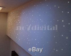 Twinkle Étoiles Fibre Optique Kit De Lumière Double Sortie Rgb + W Led Chanderlier Nuit Lampe