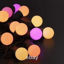 Twinkly Festoon Lights (33 Pi) Avec 20 Rgb Multicolore G45 Led Ampoule Génération 2