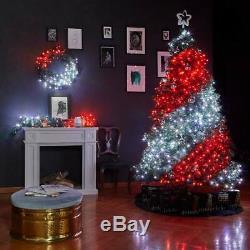Twinkly Gen II Intelligente App Contrôlée Led Arbre De Noël Lumières Avec Blanc Chaud