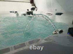 Vgc 6 Seat Eco Hot Tub Remote Stereo Leds Fontaines Cradle Étapes Spa Jacuzzi