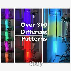 Vincitall Lampe De Plancher Led Moderne Avec Changement De Couleur Rgb Led, Télécommande Tactile
