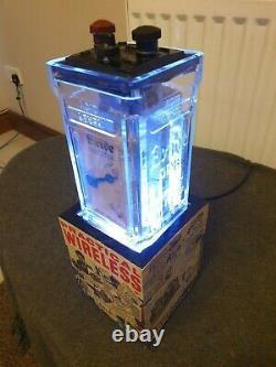 Vintage Exide Glass Radio Battery/accumulateur 1920's Colour Change Lamp Strobe Vintage Exide Glass Radio Battery/accumulateator 1920's Colour Change Lamp Strobe Vintage Exide Glass Radio Battery/accumulateur 1920's Colour Change Lamp Strobe Vintage Ex