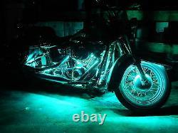 Wireless 18 Color Changing Led Shadow Aero 750 Motorcycle 12pc Led Light Kit